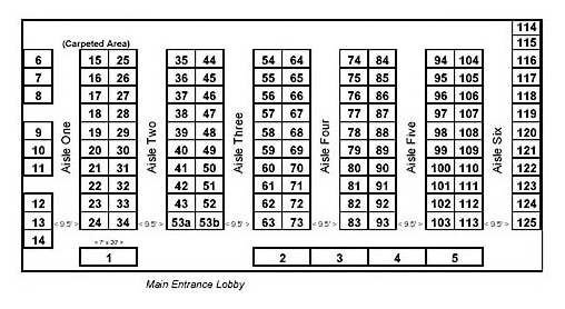 Ruidoso Convention Center floor-plan